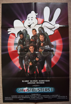Ghostbusters 2 Movie Poster - One Sheet